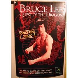 Bruce Lee - Quest Of the Dragon - AFFICHE MUSIQUE / CONCERT / POSTER