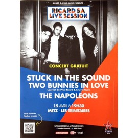 Stuck In The Sound - The Napoleons - AFFICHE MUSIQUE / CONCERT / POSTER