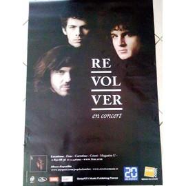 REVOLVER - AFFICHE MUSIQUE / CONCERT / POSTER