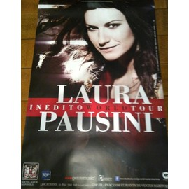 Laura PAUSINI - AFFICHE MUSIQUE / CONCERT / POSTER