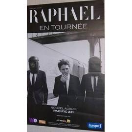 RAPHAEL - AFFICHE MUSIQUE / CONCERT / POSTER