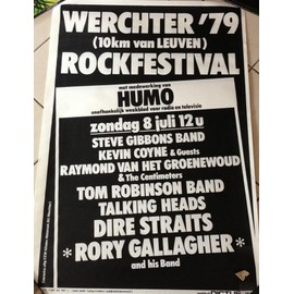 Rory Gallagher - AFFICHE MUSIQUE / CONCERT / POSTER
