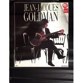 Jean-Jacques GOLDMAN - 1988 - AFFICHE MUSIQUE / CONCERT / POSTER