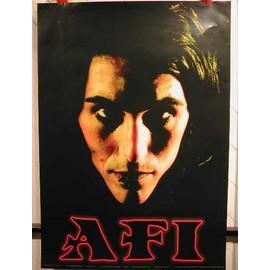 AFI - AFFICHE MUSIQUE / CONCERT / POSTER