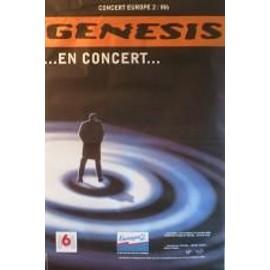 Genesis - AFFICHE MUSIQUE / CONCERT / POSTER