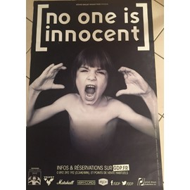 No One Is Innocent - 2015 - Propaganda - AFFICHE MUSIQUE / CONCERT / POSTER