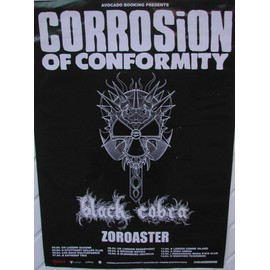 Corrosion Of Conformity - AFFICHE MUSIQUE / CONCERT / POSTER