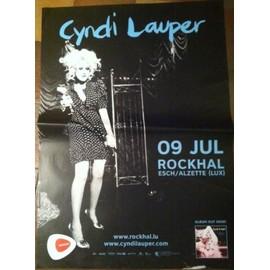 Cyndi Lauper - AFFICHE MUSIQUE / CONCERT / POSTER