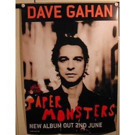 Gahan Dave - AFFICHE MUSIQUE / CONCERT / POSTER