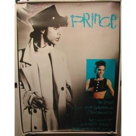 PRINCE - Wembley - AFFICHE MUSIQUE / CONCERT / POSTER