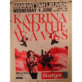 Katrina and the Waves - AFFICHE MUSIQUE / CONCERT / POSTER