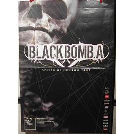 BLACK BOMBA - AFFICHE MUSIQUE / CONCERT / POSTER