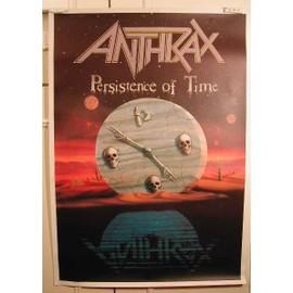 Anthrax - AFFICHE MUSIQUE / CONCERT / POSTER