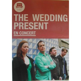 The Wedding Present - AFFICHE MUSIQUE / CONCERT / POSTER