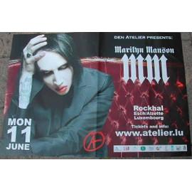 Marilyn Manson - AFFICHE MUSIQUE / CONCERT / POSTER