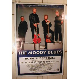 Moody Blues The - AFFICHE MUSIQUE / CONCERT / POSTER