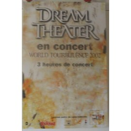 Dream Theater - 2002 - AFFICHE MUSIQUE / CONCERT / POSTER
