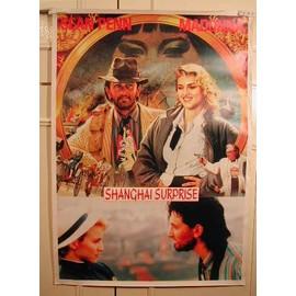 Madonna - Shangai Surprise - AFFICHE MUSIQUE / CONCERT / POSTER