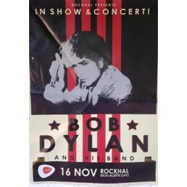Bob Dylan - AFFICHE MUSIQUE / CONCERT / POSTER