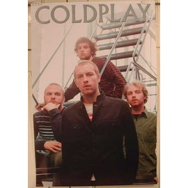 Coldplay - AFFICHE MUSIQUE / CONCERT / POSTER
