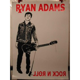 ADAMS RYAN - AFFICHE MUSIQUE / CONCERT / POSTER