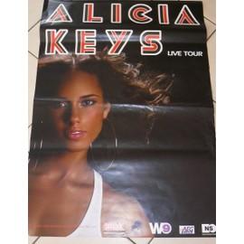 Alicia KEYS - 2008 - AFFICHE MUSIQUE / CONCERT / POSTER