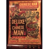 Chinese Man - The 10 Years Tour - Affiche Musique / Concert / Poster