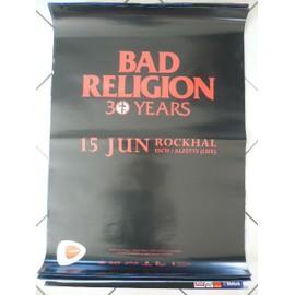 Bad Religion - AFFICHE MUSIQUE / CONCERT / POSTER