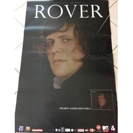 Rover - AFFICHE MUSIQUE / CONCERT / POSTER