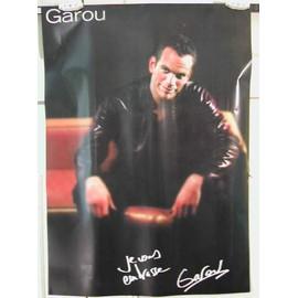 Garou - 2004 - AFFICHE MUSIQUE / CONCERT / POSTER