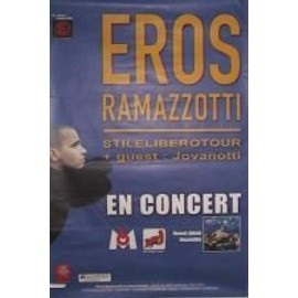 Ramazzotti Eros - 2002 - AFFICHE MUSIQUE / CONCERT / POSTER