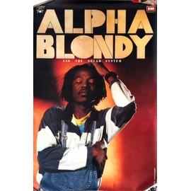 Alpha BLONDY - AFFICHE MUSIQUE / CONCERT / POSTER