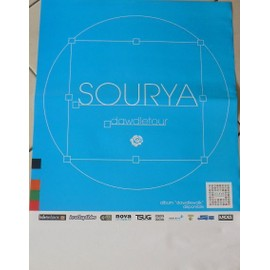 Sourya - AFFICHE MUSIQUE / CONCERT / POSTER