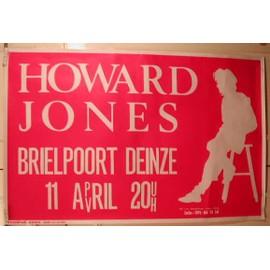 Howard Jones - Rose - AFFICHE MUSIQUE / CONCERT / POSTER