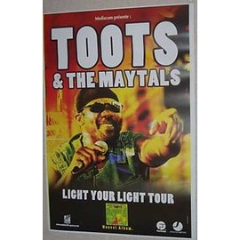 TOOTS And The Maytals - AFFICHE MUSIQUE / CONCERT / POSTER
