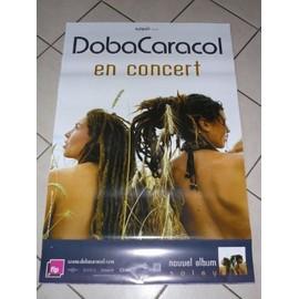 Doba Caracol - AFFICHE MUSIQUE / CONCERT / POSTER