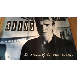 STING - The Dream Of the Blue Turtles - AFFICHE MUSIQUE / CONCERT / POSTER