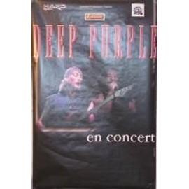 Deep Purple - AFFICHE MUSIQUE / CONCERT / POSTER