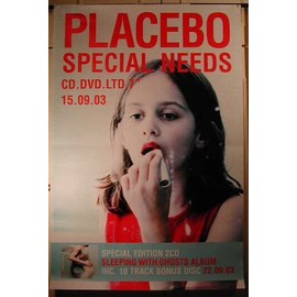 Placebo - Special Need - AFFICHE MUSIQUE / CONCERT / POSTER