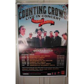 Counting Crows - Hard Candy - AFFICHE MUSIQUE / CONCERT / POSTER