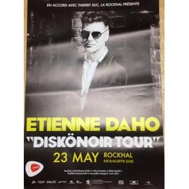 Etienne DAHO - AFFICHE MUSIQUE / CONCERT / POSTER