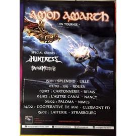 Amon Amarth - AFFICHE MUSIQUE / CONCERT / POSTER