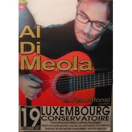 Al Di Meola - AFFICHE MUSIQUE / CONCERT / POSTER