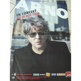 ARNO - 2009 - AFFICHE MUSIQUE / CONCERT / POSTER