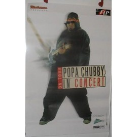 Popa Chubby - 2003 - AFFICHE MUSIQUE / CONCERT / POSTER