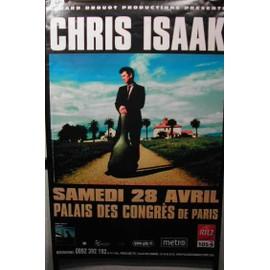 Chris Isaak - AFFICHE MUSIQUE / CONCERT / POSTER