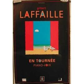 Laffaille Gilbert - AFFICHE MUSIQUE / CONCERT / POSTER