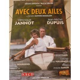 Avec Deux Ailles - Véronique JANNOT - AFFICHE MUSIQUE / CONCERT / POSTER
