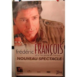 FRANCOIS Frederic - AFFICHE MUSIQUE / CONCERT / POSTER