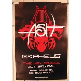 ASH - Orpheus - AFFICHE MUSIQUE / CONCERT / POSTER